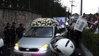 Funeral For Slain Ecuadoran Journalists