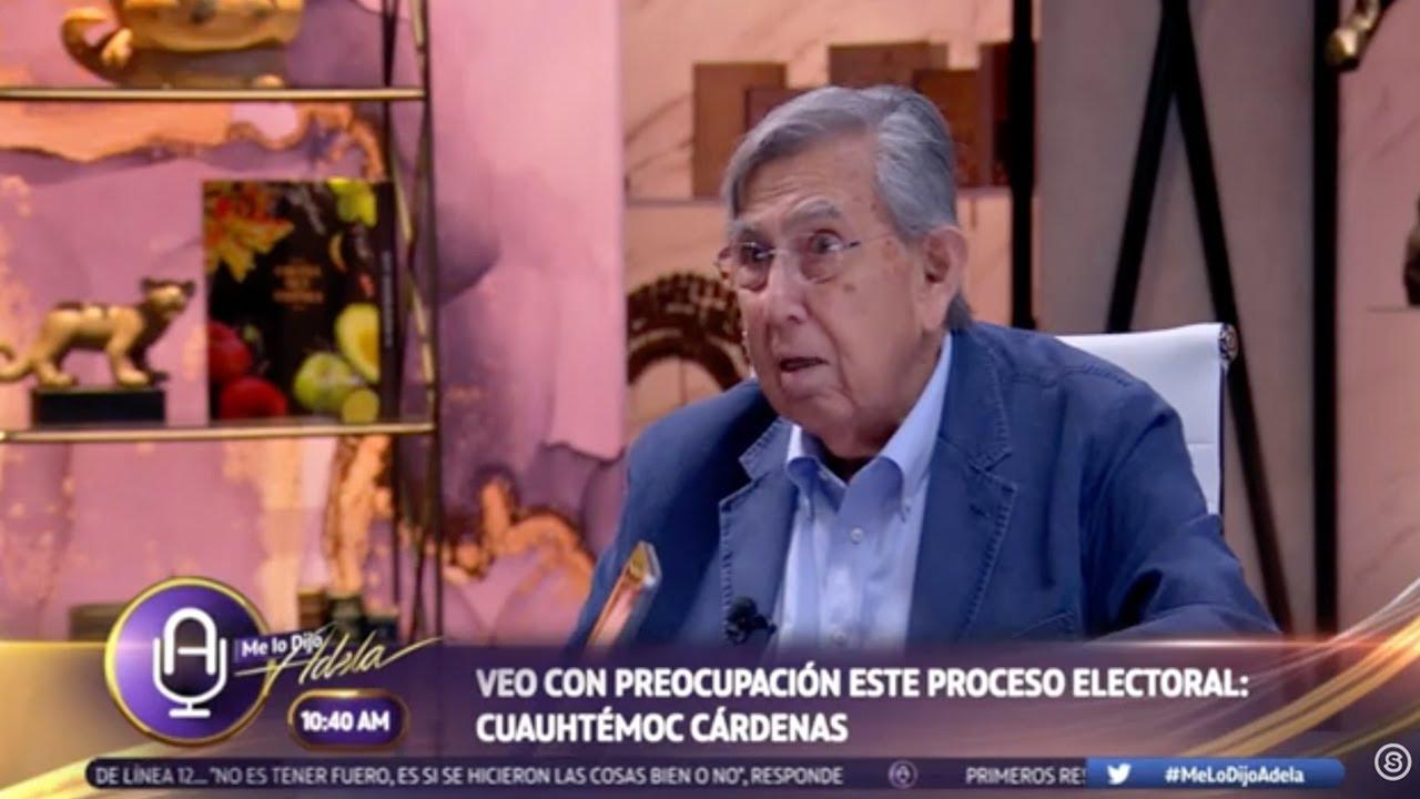 "#Entrevista Cuauhtémoc Cárdenas en ""Me Lo Dijo Adela"""