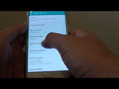 Samsung Galaxy S6 Edge: How to Find out Which Android Version is Running