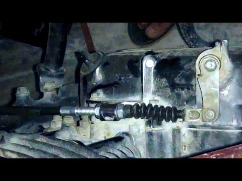 MOTORCYCLE CLUTCH CABLE CHANGE