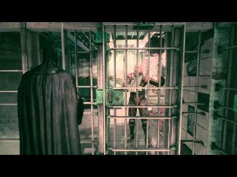 BATMAN™: ARKHAM KNIGHT hitting the annoying prisoner