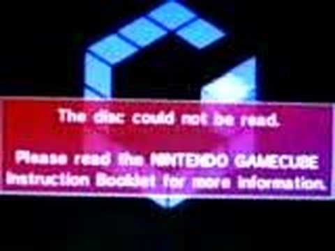 Game cube not read the disc - problem