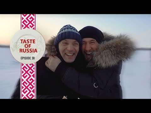 Eating bear and frozen fish in Siberia's snow capital, Khanty-Mansiysk - Taste of Russia Ep. 30
