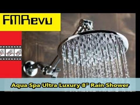 How to Install Shower Head: Aqua Spa Ultra Luxury 8