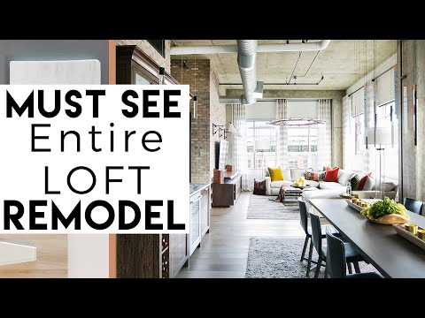 Interior Design - Loft Remodel - MUST SEE