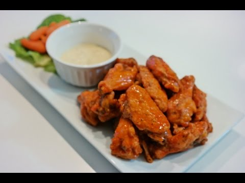 Baked Buffalo Chicken wings - How to make the best buffalo Chicken wings ever