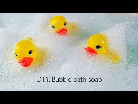 D.I.Y. Bubble Bath Soap!