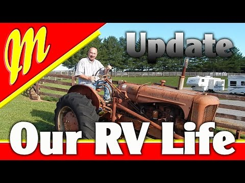 What's been Happening? Watch to find out! RV Washer Update!