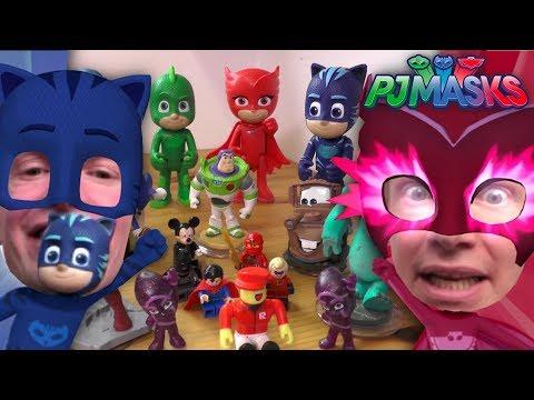 PJ Masks Super Toy Guessing Challenge (Disney Junior)