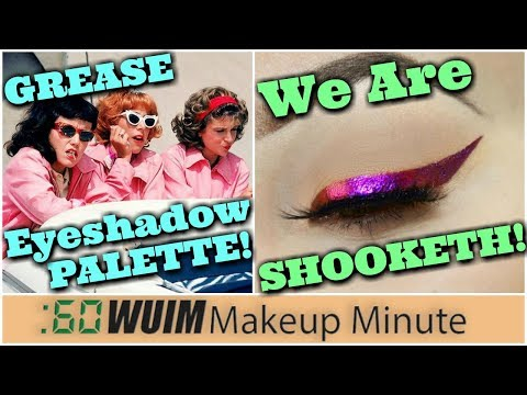The Grease Pink Ladies Palette is COMING! Multi-Chrome Liners! OMG! | Makeup Minute