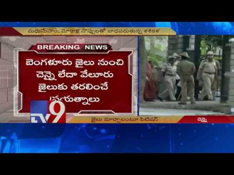 Palanisamy govt may request court for relocation of Sasikala to TN jail - TV9