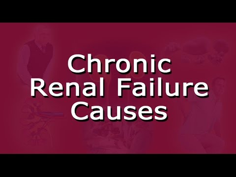 Chronic Renal Failure Causes