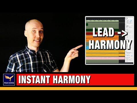 Propellerhead Reason Tutorial: Create Harmonies from your Lead Melody