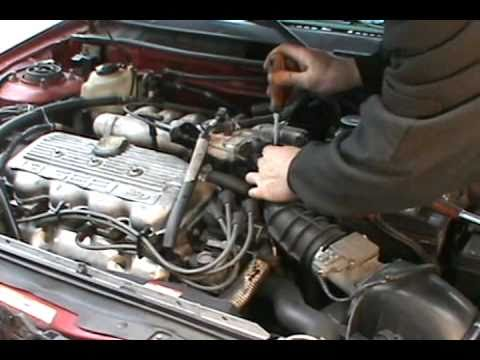 Troubleshooting and replacing a bad starter. 1.9 Ford escort