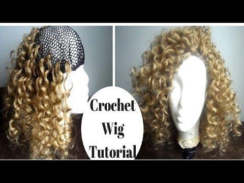 How To Make A Crochet Wig (Beginner Friendly) | Crochet Wig Tutorial | GoldQueen Queency