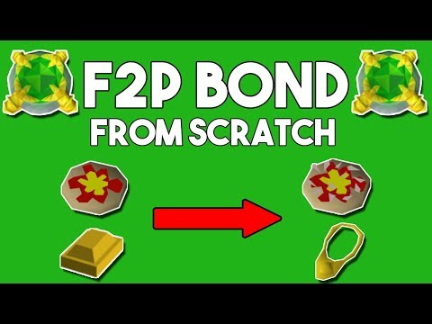 How to Earn A Bond In F2P From Lvl 3 [2018] - Oldschool Runescape F2P Money Making Method[OSRS]