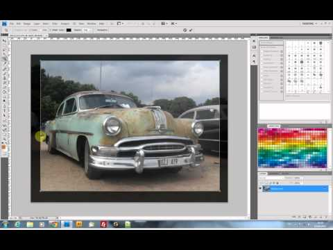 How to resize & crop an image with  Photoshop CS4