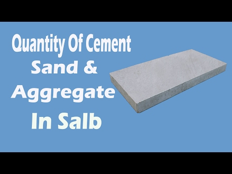 How to Calculate Quantity for Cement , Sand & Aggregate in Concrete.