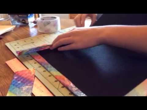Duct tape file folder time lapse!