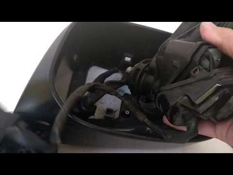 Honda Fit / Jazz GE 8 Retractable (Folding) Mirror Disassembly - Repair