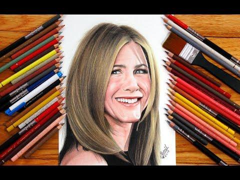 Jennifer Aniston drawing .... friends