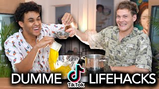 DUMME TIKTOK LIFEHACKS ! mit Joeys Jungle