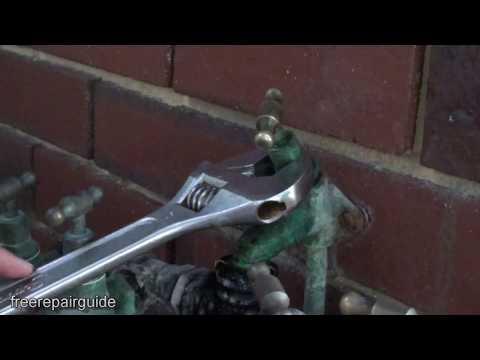 How to Fix Leaking Garden Tap