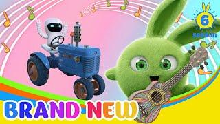 SUNNY BUNNIES - Sunny Bunnies Tractor Band   BRAND NEW EPISODE   Season 6   Cartoons for Children