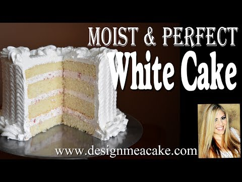 Moist White Cake Recipe- Masterclass