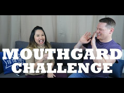 FUNNY MOUTHGUARD CHALLENGE