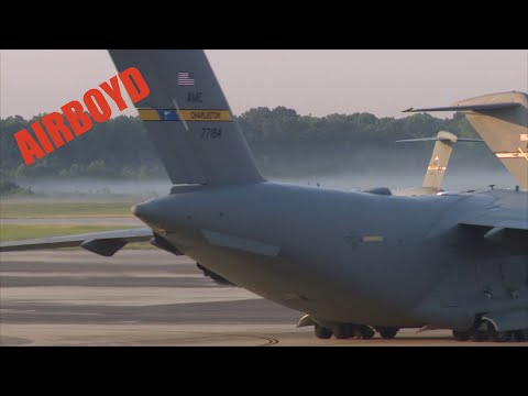 C-17 Globemaster Operations At Charleston