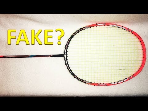 ULTIMATE LEGIT CHECK GUIDE: Counterfeit/Fake VS Real YONEX Badminton Rackets