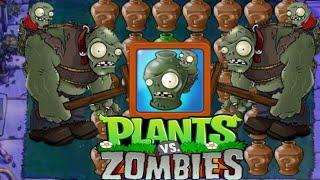Zombie ATTACK vs CARTON Plants?! | i Zombie | PUZZLES