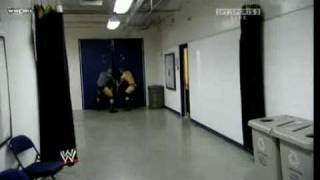 WWE: Triple H chases Randy Orton to the tune of Mr. Hill.