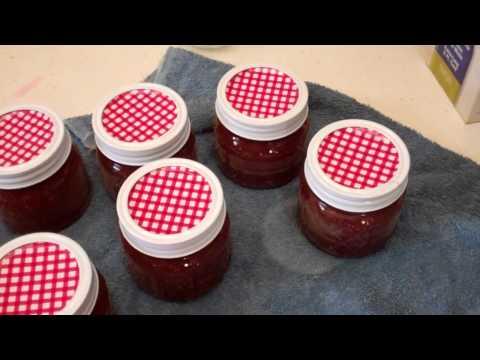 Making Strawberry Rhubarb Jam!!!
