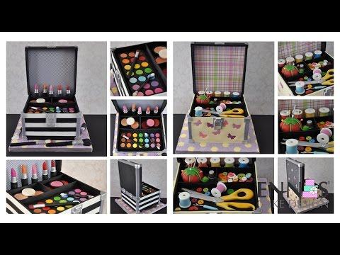 Cake Transformation - from Makeup cake to Sewing Kit Cake