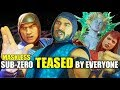 Who Roasts & Teases A Maskless Sub-Zero the Best? (Vrbada's Vapors Banter Intro Dialogues) MK 11