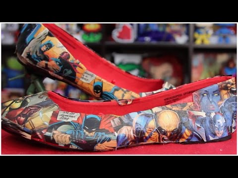Pinterest Do, Don't or Maybe? DIY Comic Book Shoes