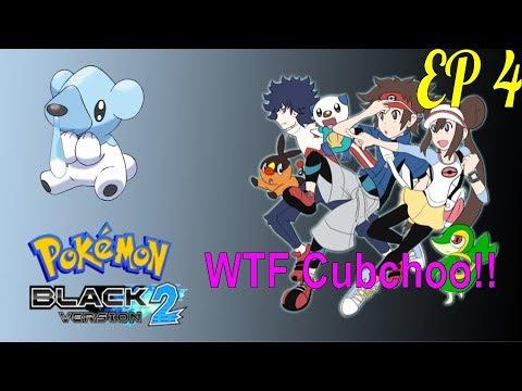 WTF Cubchoo!!! - Pokémon Black 2 Extreme Randomizer Nuzlocke Race w/ DIzzle - Ep 4