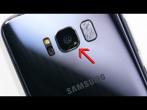 Galaxy S8 Cracked Camera Lens Replacement
