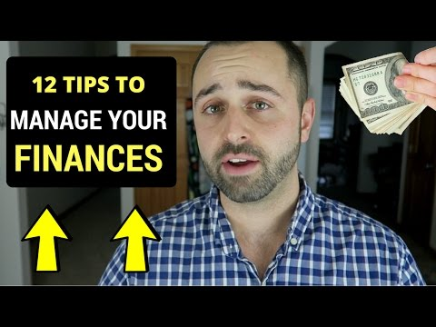 12 Tips To Manage Your Money And Personal Finances