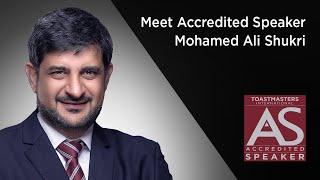 Meet Accredited Speaker Mohamed Ali Shukri