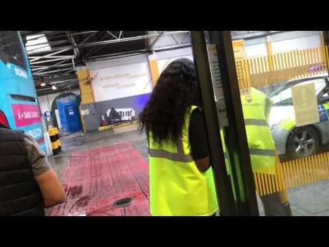 Illegal immigrants London Victoria coach station 28.05.2017