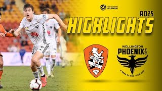 HIGHLIGHTS | Brisbane Roar vs Wellington Phoenix