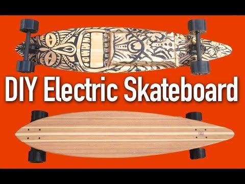 Build a DIY Electric Skateboard or Longboard - it's EASY!