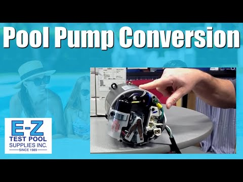 How to Convert an Inground Pool Pump Motor from 115v to 230v