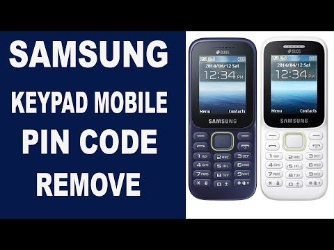 SAMSUNG KEYPAD MOBILE PIN CODE REMOVE