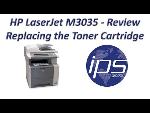 HP M3035 - Review Replacing the Toner Cartridge