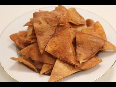 Roti Nacho Chips | Sanjeev Kapoor Khazana