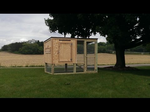 Chicken Coop for 4 Chickens!